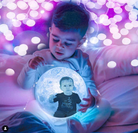 Personalized Photo Moon Lamp