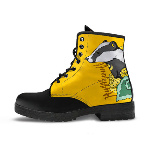 Hufflepuff boot-Moon & Back