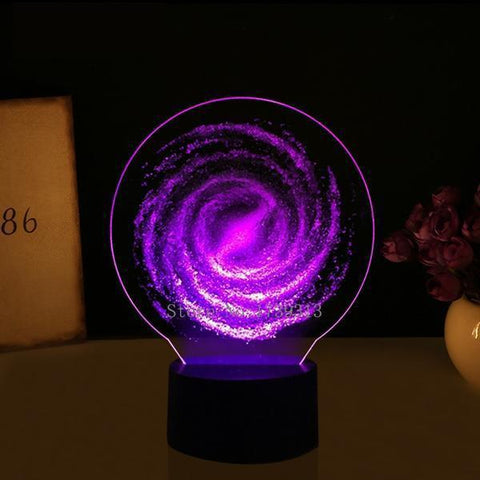 3D Cosmos Night Lamp-nasagiftshop-Moon & Back