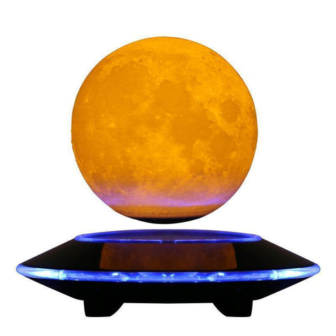 3D Levitating Moon Lamp-nasagiftshop-EU Plug-Moon & Back