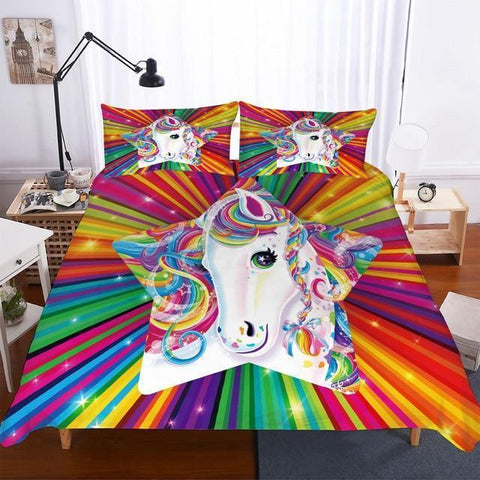 3D printed bedding set-Moon & Back-style6-Australia Double Size-Moon & Back