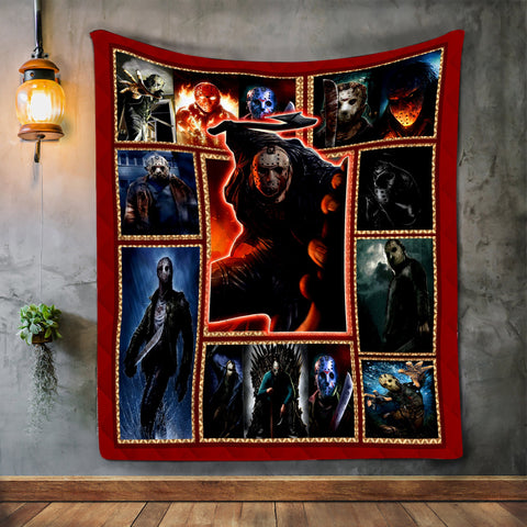 Horror Movie Lover Halloween Blanket-Moon & Back