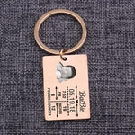 Baby Stats New Dad Mom Gift Bag Charm Keepsake Custom Keychain New Baby Birth Info Memorial Keyrings Personality Key Holder-Moon & Back-rose-Moon & Back