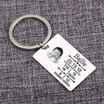 Baby Stats New Dad Mom Gift Bag Charm Keepsake Custom Keychain New Baby Birth Info Memorial Keyrings Personality Key Holder-Moon & Back-sliver-Moon & Back