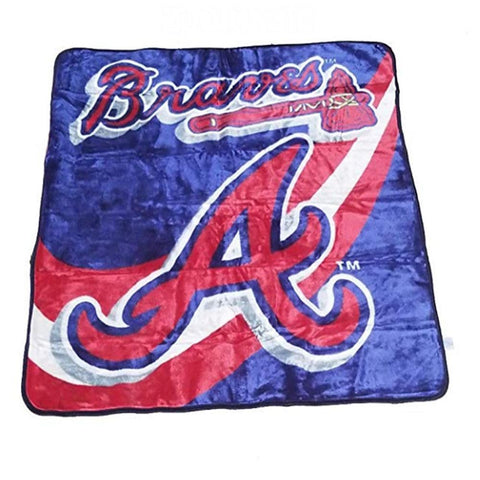 Baseball Blanket Strength Design-Moon & Back-as showed-125 W x 150 L cm-Moon & Back