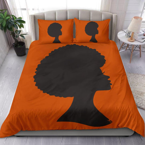 Black Woman Duvet Cover Set, Black Lives Matter-Moon & Back