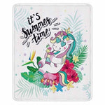 Cute Unicorn Super Soft Throw Blankets-Moon & Back-004-130x150cm-Moon & Back