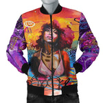 Educted Black Girl Queen Jackets, Gifts for Black Women-Moon & Back