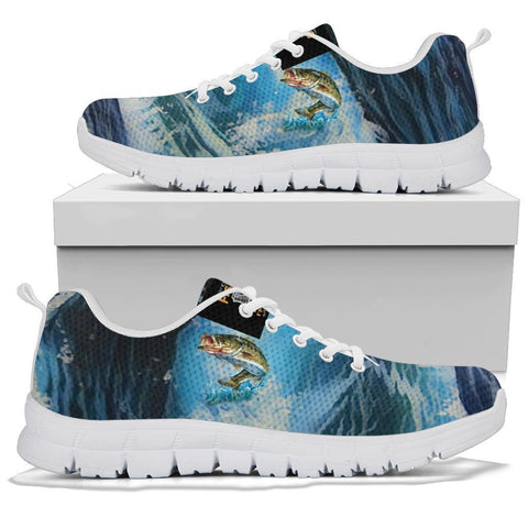 Fishing Sneaker, Fishing Gifts, Outdoor Gifts, Gift for Fishers-Moon & Back