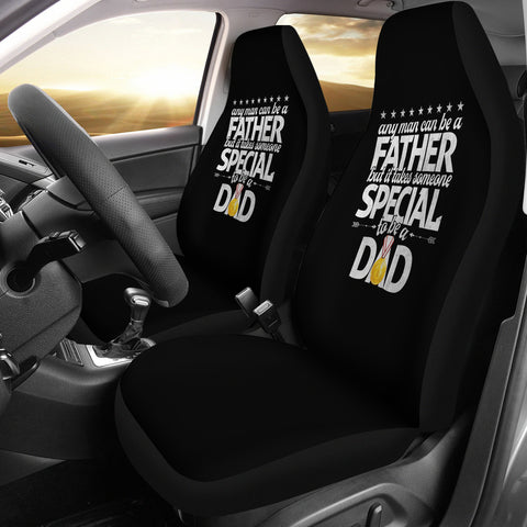 Special Dad | Car Seat Covers-Moon & Back