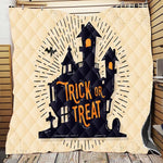 Halloween, Trick or Treat, Happy Halloween, Blanket-Moon & Back