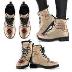 Harry Potter Mischief Managed Boot, Marauder's Map Boot, Harry Potter Gifts-Moon & Back