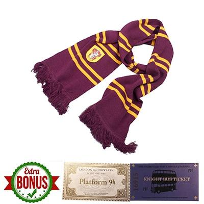 Harry Potter Gryffindor Students Scarf-Moon & Back-Moon & Back