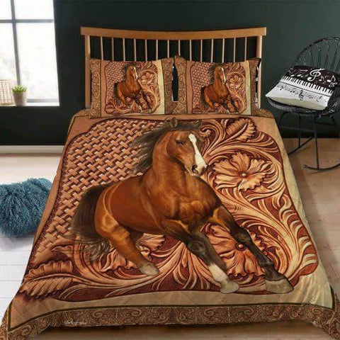Horse Lovers Blanket, Gift For Horse Riders-Moon & Back