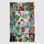 How The Grinch Stole The Christmas Blanket-Moon & Back