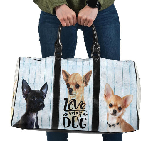 Love My Chihuahua Travel Bag, Dog Lovers Gifts-Moon & Back