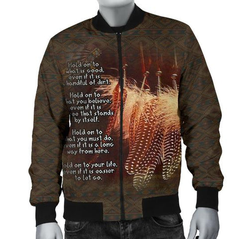 Native American Bomber Jacket, Native American Gifts-Moon & Back