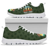 Sasquatch Sneaker, Squatch Bigfoot Pattern Shoes-Moon & Back