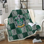 Slytherin Harry Potter Blanket-Moon & Back-BZKH1309-Queen 60INCHx80INCH-Moon & Back