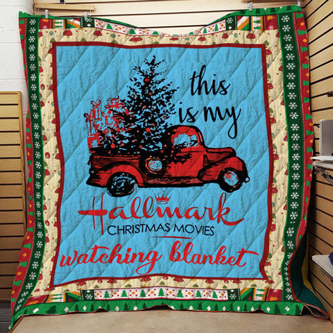 This My Hallmark Christmas Movie Watching Blanket-Moon & Back