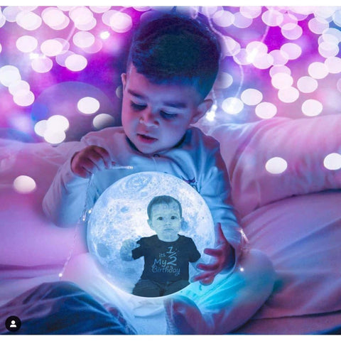 UPGRADE to Moon Lamp from 15cm to 20cm FOR Bulk Orders-Moon & Back-Moon & Back