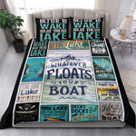 Whatever Floats Your Boat Bedding Set, Lake Lovers-Moon & Back
