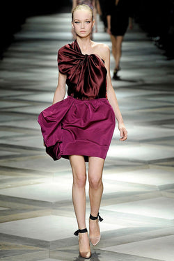 S/S 2009 Bicolor Asymmetric Dress