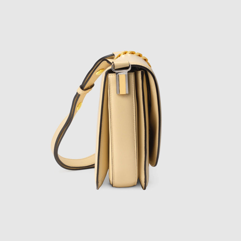 Sylvie 1969 Small Shoulder Bag in Butter Leather
