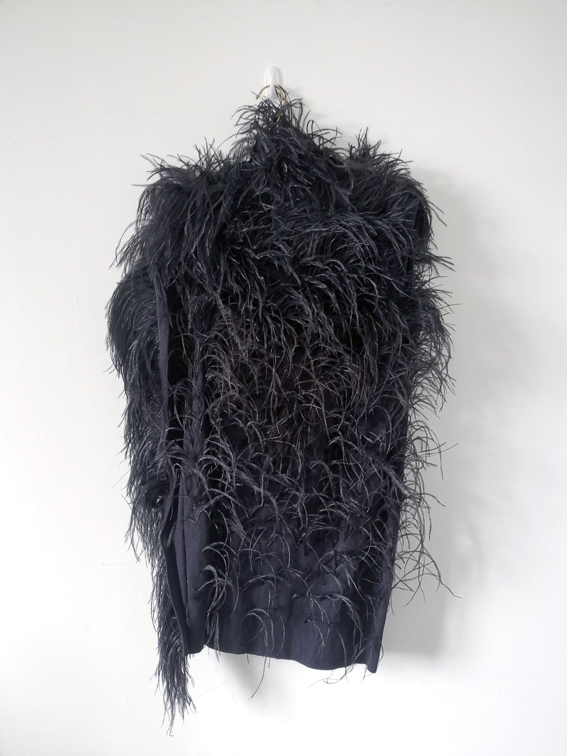 Winter 2010 Ostrich Feather Dress