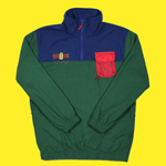 The Colorblock Fleece (Teal/Multi)