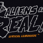 Aliens Are Real Hoodie (Black)