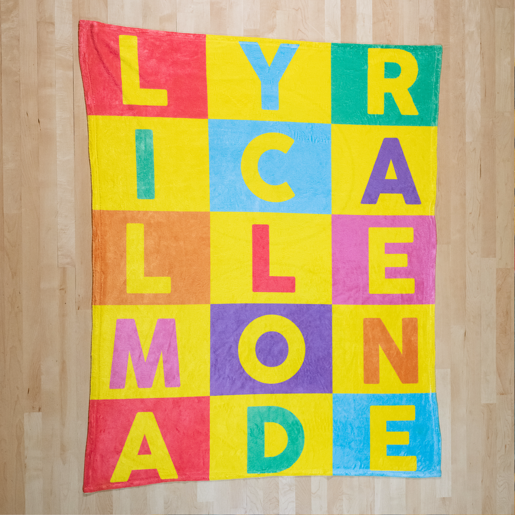 The Lyrical Lemonade Blanket