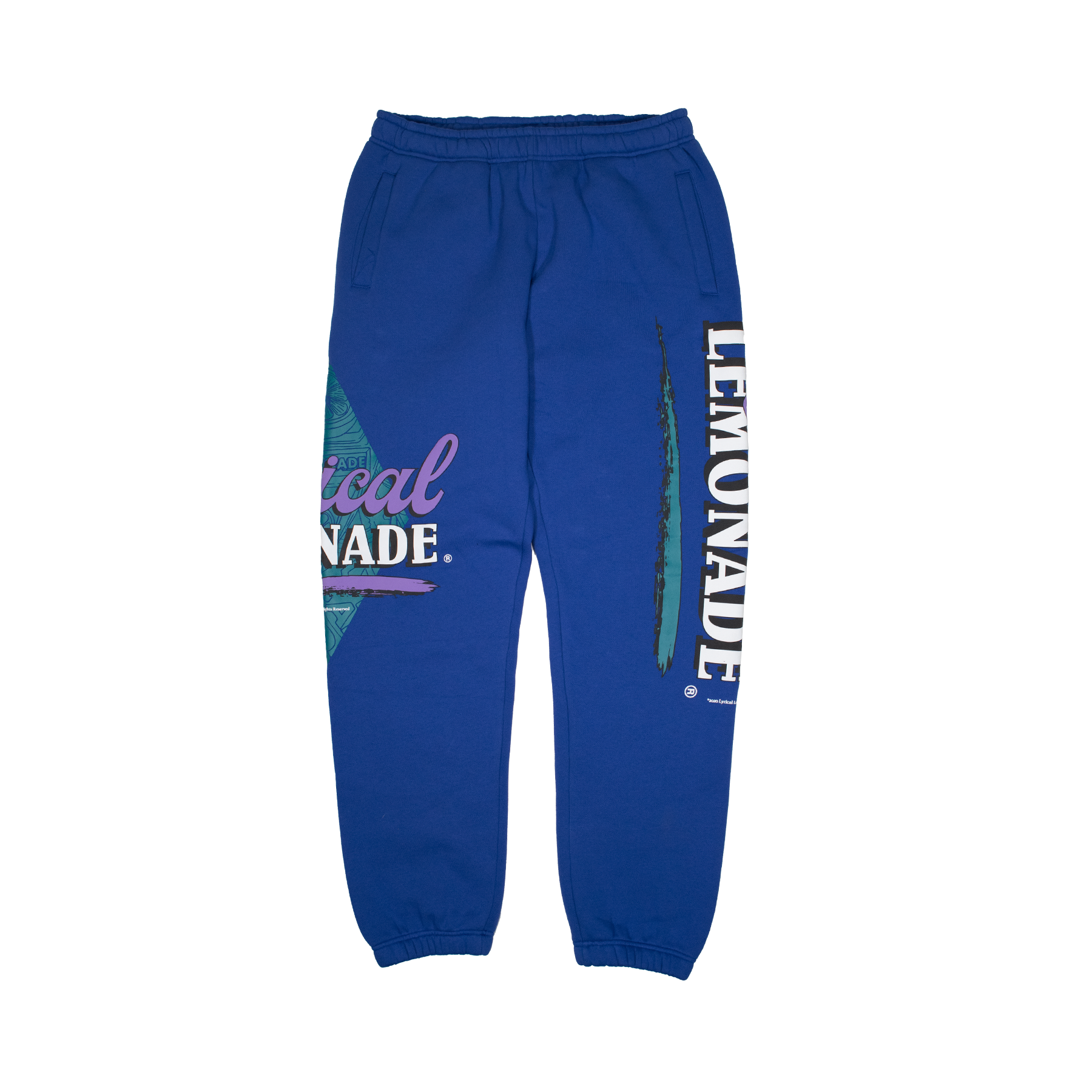 The Rockies Sweatpants in Royal Blue