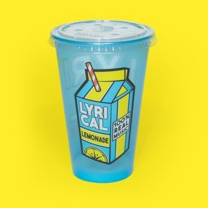 The Carton Logo Cup Blue