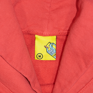 Carton Patch Hoodie in Red