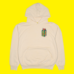 Carton Patch Hoodie in Sand