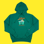 The Drink Responsibly Hoodie in Kelly Green