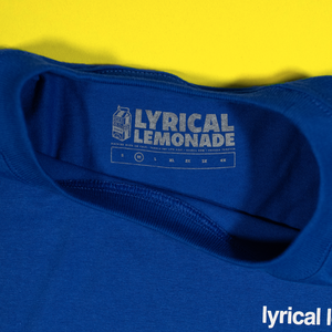 The LL Productions Tee in Royal Blue