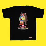 The Ski x Lemon Man Tee No. 4 Tee in Black
