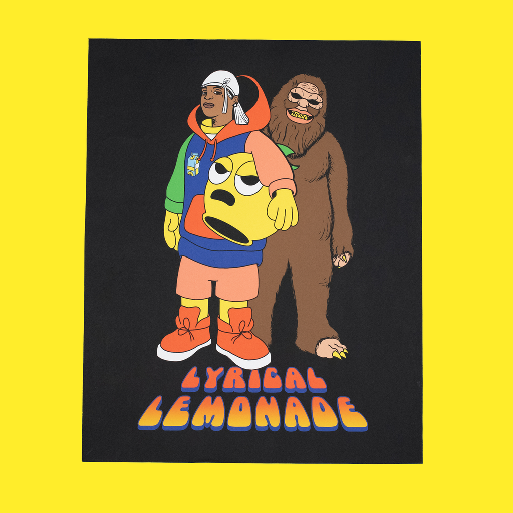 The Ski Mask x Lemon Man Poster
