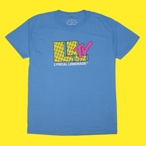 The LLTV Tee in Light Blue