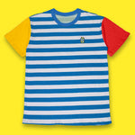 The Striped Tee Blue