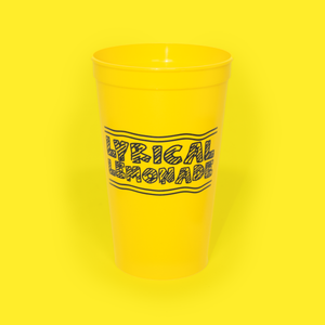 The Doodle Logo Cup Yellow