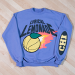 The LL Gametime Crewneck in Violet