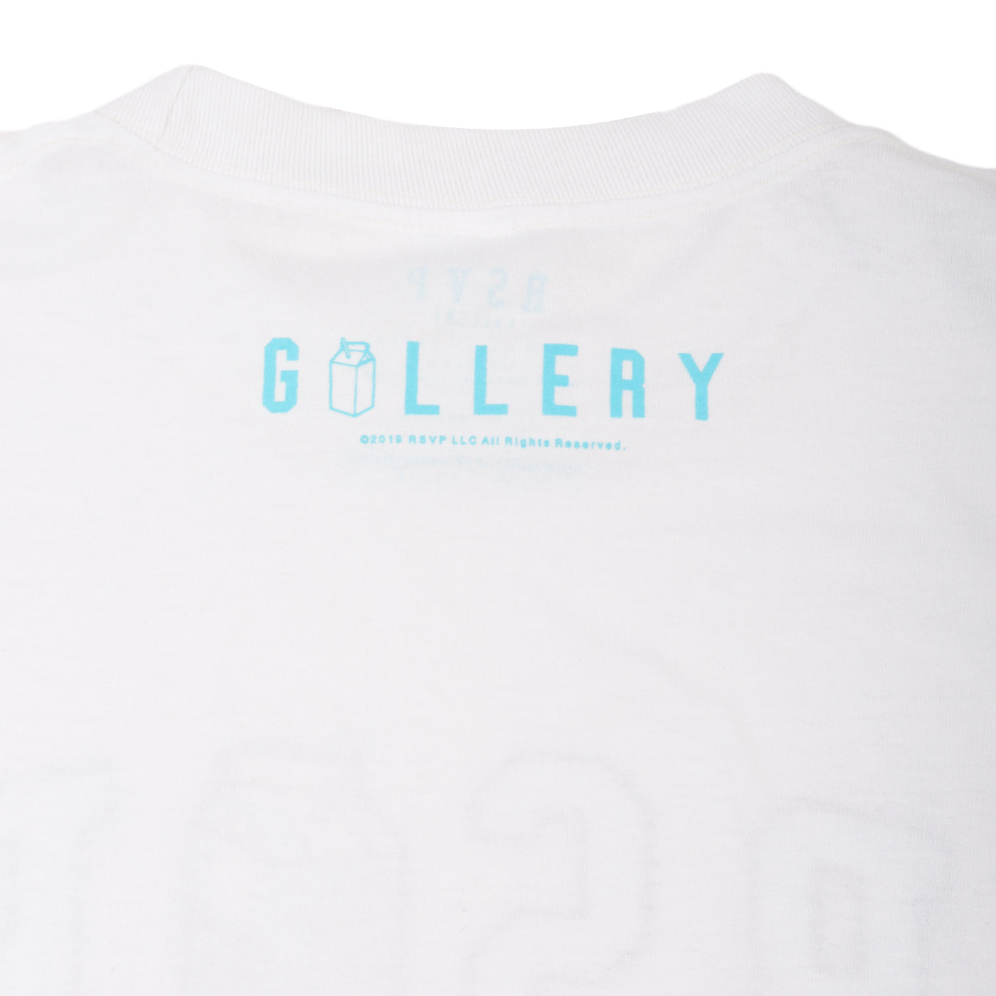The LL x RSVP Tee in White-Blue