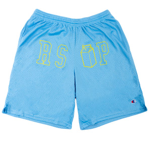 The LL x RSVP Shorts in Blue
