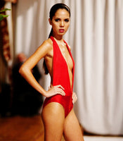 Haute Red One Piece Swimsuit