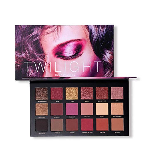18 Colors Highly Pigmented Matte Shimmer Eyeshadow Makeup Palette