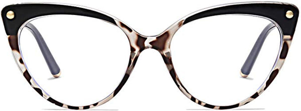 Jessie Ombre Tortoise Cat Eye Clear Lens Eyeglasses