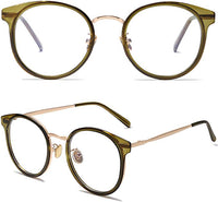 Tortoise Brown Bianca Framed Clear Eye Wear Glasses